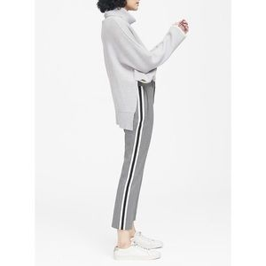 BR Avery Tuxedo Stripe Gray Pants Sz 4S
